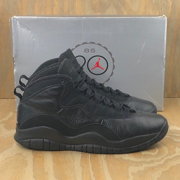 Nike Air Jordan 10 Retro 'Stealth' OVO 2005